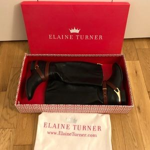 Elaine Turner Murray Riding Boots. 7